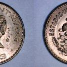 1943 Mexican 5 Centavo World Coin - Mexico
