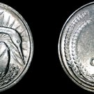 1981 Singapore 5 Cent World Coin - Snake Bird