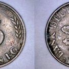 1949 J German 5 Pfennig World Coin -  West Germany