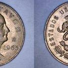 1963 Mexican 5 Centavo World Coin - Mexico