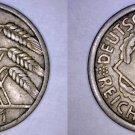 1931 A German 10 Reichspfennig World Coin -  Germany Weimar Republic