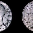 1940 Italian 20 Centesimi World Coin - Italy - Magnetic