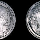 1948 French 1 Franc World Coin - France