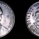 1964Mo Mexican 25 Centavo World Coin - Mexico