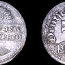 1920 F German 50 Pfennig World Coin -  Germany Weimar Republic