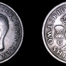 1951 Great Britain Florin World Coin - UK - England