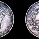 1938-KN British West Africa 3 Pence World Coin