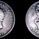 1826 Great Britain 1 Shilling World Silver Coin - UK - England - George IV