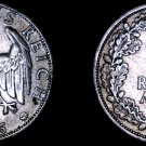 1926-A Weimar Germany 2 Mark World Silver Coin