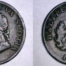 1832 Nova Scotia 1/2 Penny Token - Canada