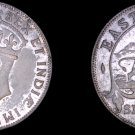 1941 East African Shilling World Silver Coin - British Admin East Africa Lion