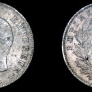1860-A French 20 Centimes World Silver Coin - France