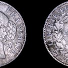 1888-A French 1 Franc World Silver Coin - France