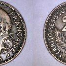 1925 Togo 2 Franc World Coin - Togolese Republic