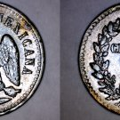 1890-Mo Mexican 1 Centavo World Coin - Mexico