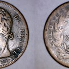 1825-A French Colonies 10 Centimes World Coin