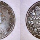 1836 Swedish 2/3 Skilling World Coin - Sweden