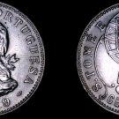 1929 Saint Thomas & Prince Island 50 Centavo World Coin