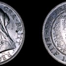 1899 Great Britain 1/2 Crown World Silver Coin - UK - England - Victoria