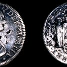 1796-FM Mexican 8 Reales World Silver Coin - Mexico - Chopmarked - Polished