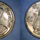 1957 BE2500 Thai 5 Satang World Coin - Thailand Siam Y-78