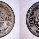 1915 Guatemalan 25 Centavo World Coin - Guatemala