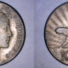 1936-A Uruguay 10 Centesimo World Coin