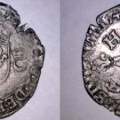 1549-AA French Douzain Aux Crescent World Coin - France Henry II