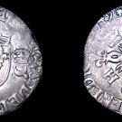 1549-G French Douzain Aux Crescent World Coin - France Henry II