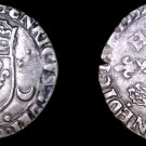 1552-D French Douzain Aux Crescent World Coin - France Henry II