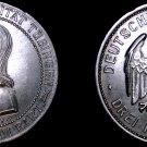 1927-F Weimar Germany 3 Mark World Silver Coin - Tubingen University