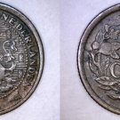 1914 Netherlands 1/2 Cent World Coin