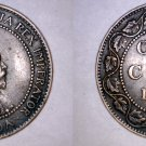 1903 Canadian 1 Large Cent World Coin - Canada
