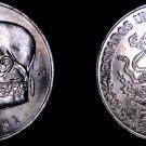 1981 Open 8 Mexican 1 Peso World Coin - Mexico