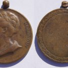 1926 Netherlands Wilhelmina 46th Birthday Medal - Original Loop