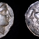 335-315BC Paeonia Patraos AR Tetradrachm Coin - Ancient Northern Greece