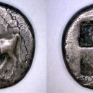416-357BC Thrace Byzantion AR Drachm Coin - Ancient Northern Greece