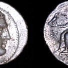 323-317BC Macedonian Philip III AR Tetradrachm Marathus Coin - Ancient Greece