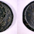 289-287BC Sicily Syracuse AE24 Coin - Ancient Greece - Reign of Hiketas