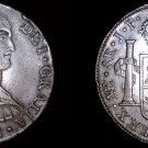 1811 LIMAE-JP Peruvian 8 Reales World Silver Coin - Ferdinand VII - Peru