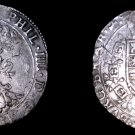 1628 Spanish Netherlands Brabant 1 Patagon World Silver Coin - Philip IV