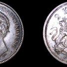 1880-EB Swedish 2 Kronor World Silver Coin - Oscar II - Sweden