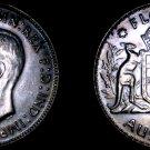 1943(m) Australian 1 Florin World Silver Coin - Australia