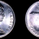 1967 Canadian Silver Dollar World Coin - Canada Centennial