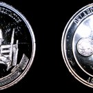 1984 Oklahoma Numismatic Association 1 oz Silver Proof Round - 50th Anniversary