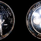 1980 Tulsa Pioneer Woman ONA 1 oz Silver Proof Round