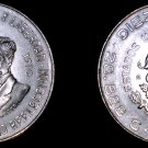 1960 Mexican 10 Peso World Silver Coin - Mexico