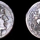 217-214BC Roman Republic Pre-Denarius AR Quadrigatus Coin - Ancient Rome