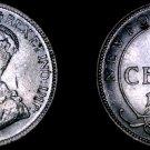 1919-C Newfoundland 25 Cent World Silver Coin - Canada