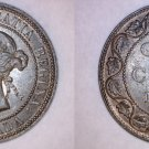 1901 Canada 1 Large Cent World Coin - Canada